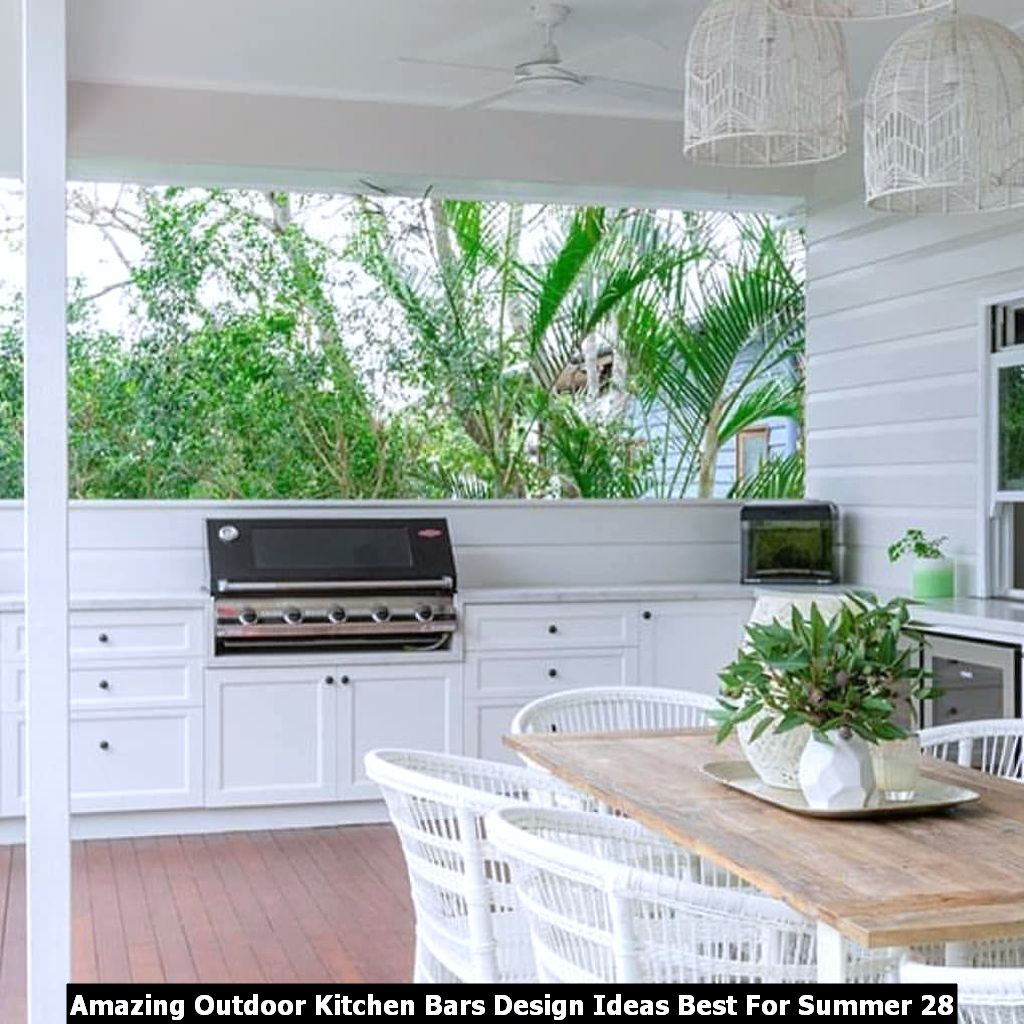 Amazing Outdoor Kitchen Bars Design Ideas Best For Summer 28
