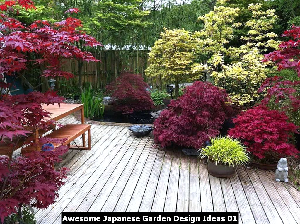 Awesome Japanese Garden Design Ideas 01