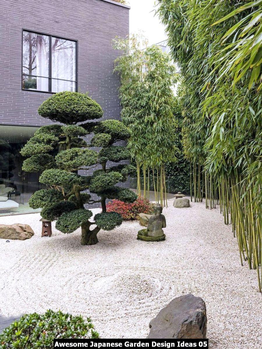 Awesome Japanese Garden Design Ideas 05