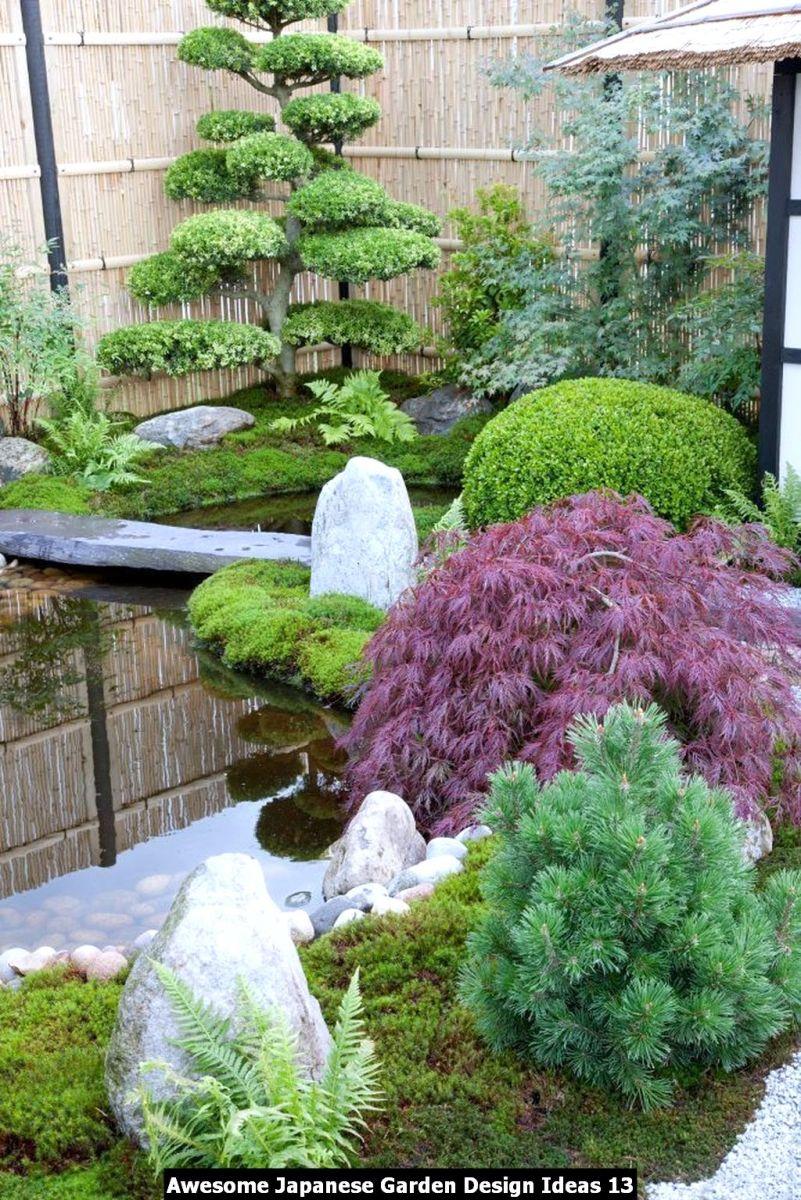 Awesome Japanese Garden Design Ideas 13