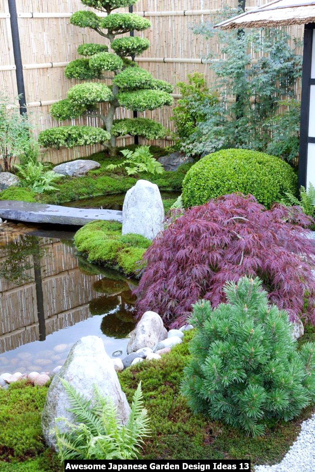 Awesome Japanese Garden Design Ideas - HOMYHOMEE