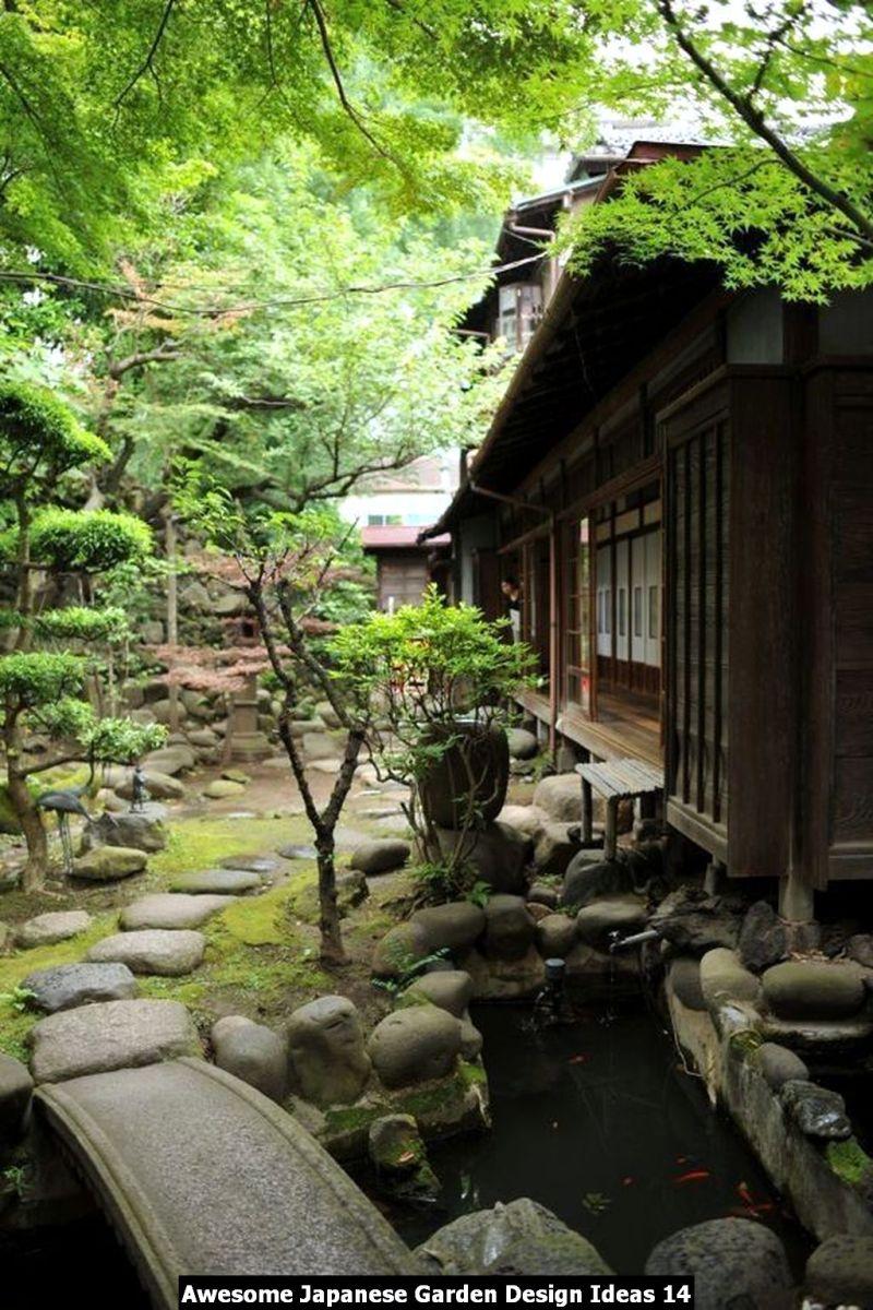 Awesome Japanese Garden Design Ideas 14