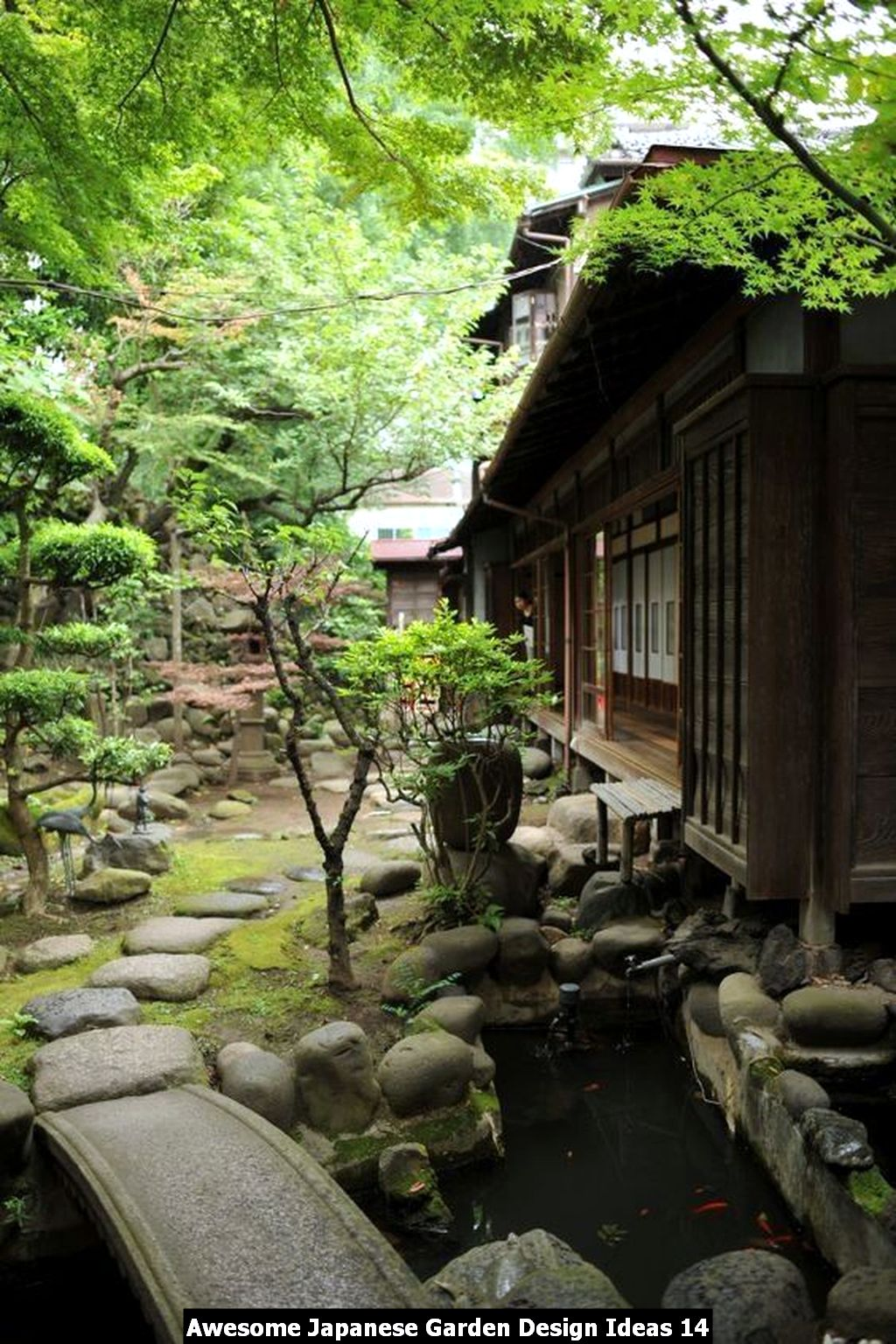 Awesome Japanese Garden Design Ideas 14
