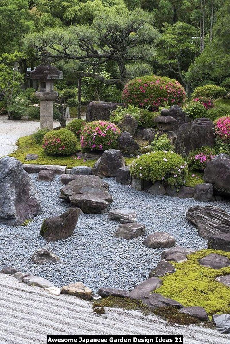 Awesome Japanese Garden Design Ideas 21