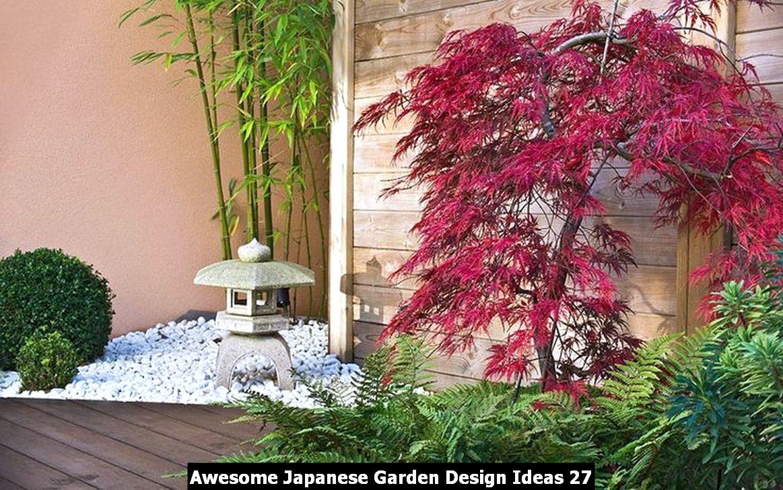 Awesome Japanese Garden Design Ideas 27