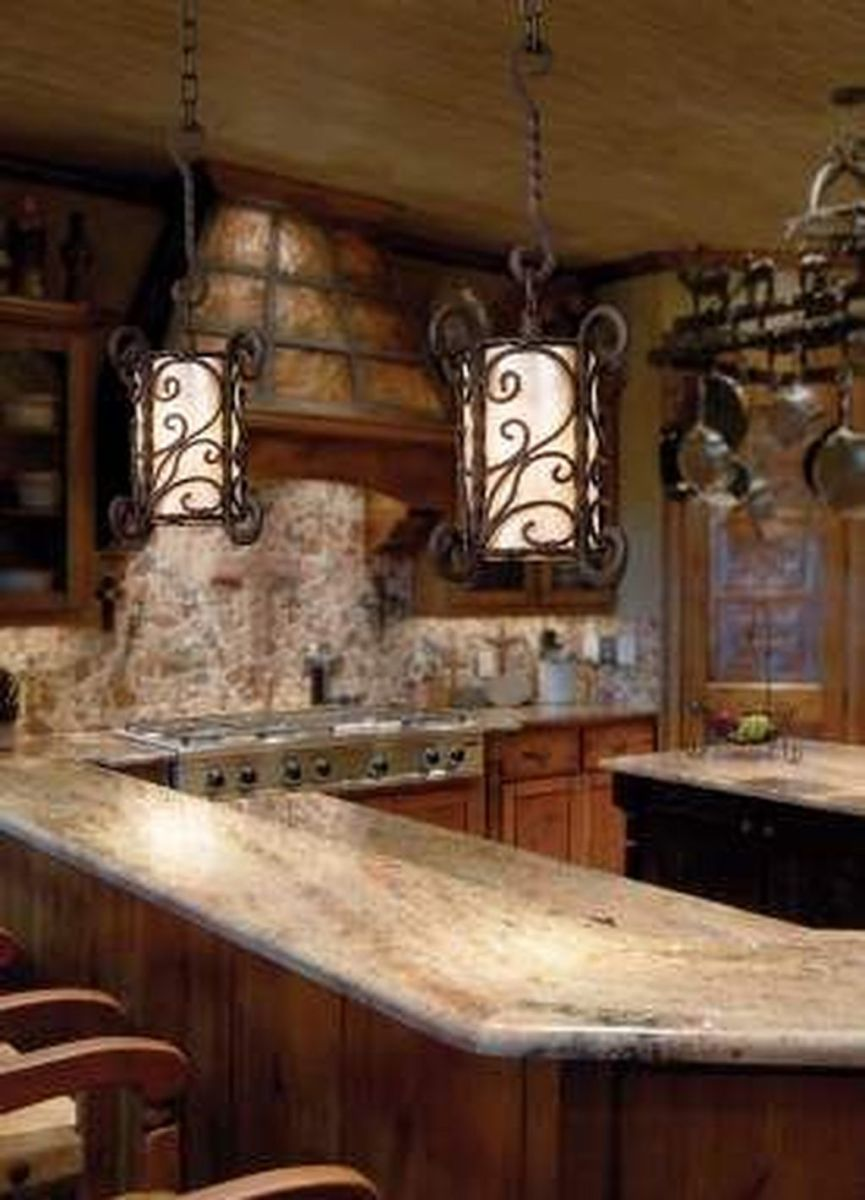 Awesome Rustic Kitchen Design Ideas 01