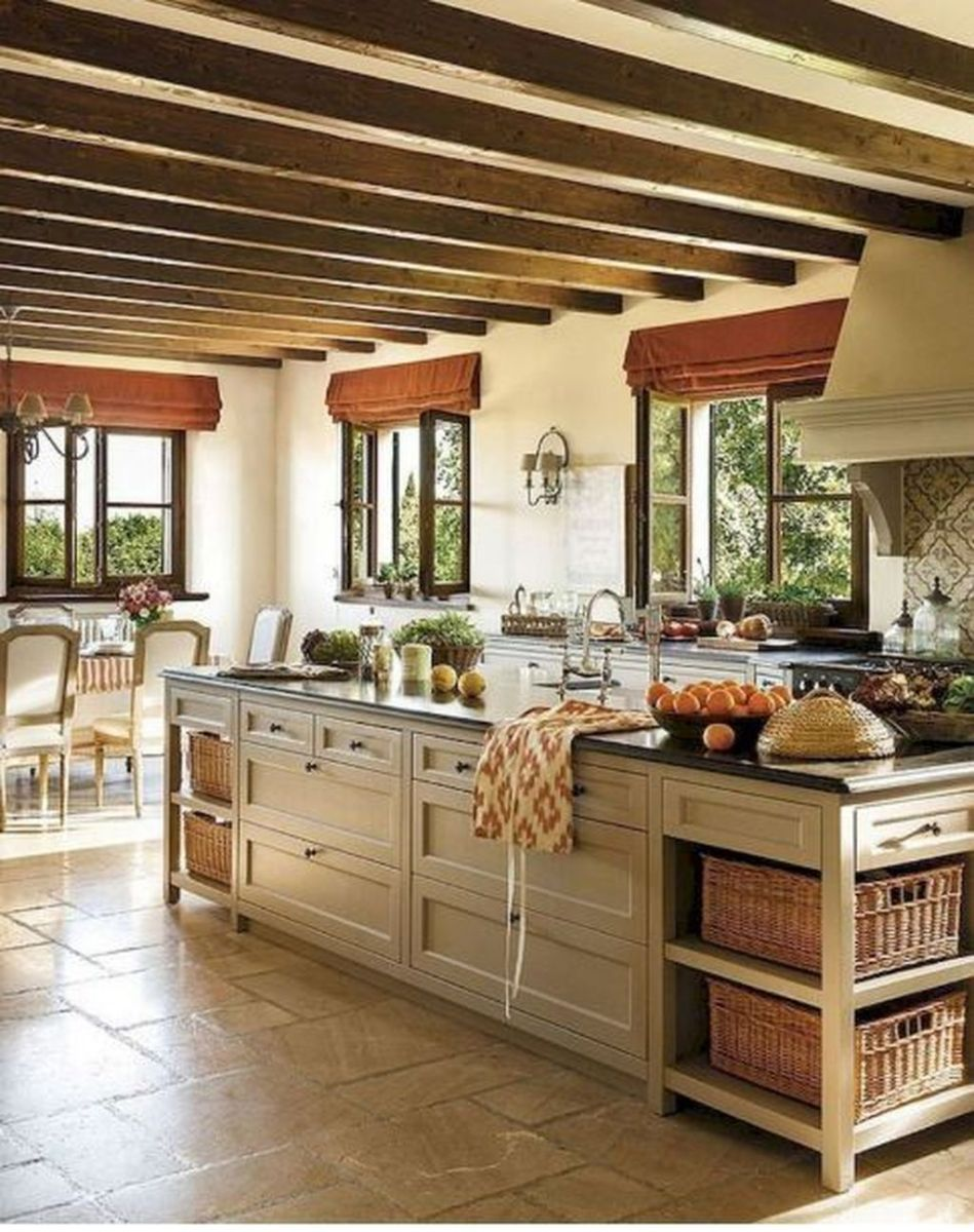 Awesome Rustic Kitchen Design Ideas 05