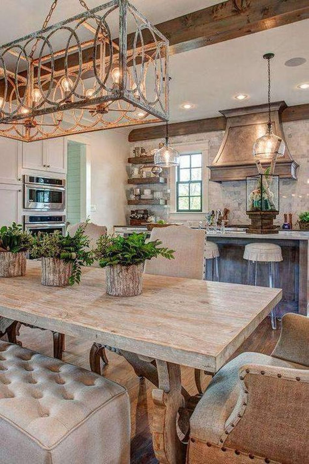 Awesome Rustic Kitchen Design Ideas 08