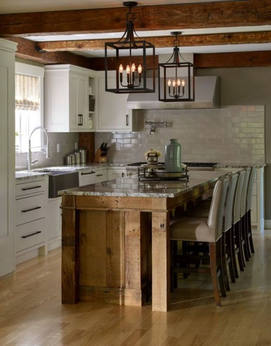 Awesome Rustic Kitchen Design Ideas 09