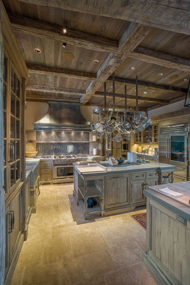 Awesome Rustic Kitchen Design Ideas 14