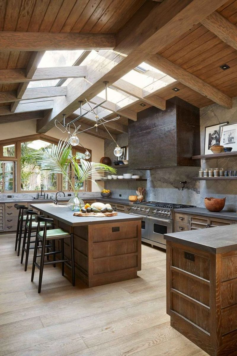 Awesome Rustic Kitchen Design Ideas 17