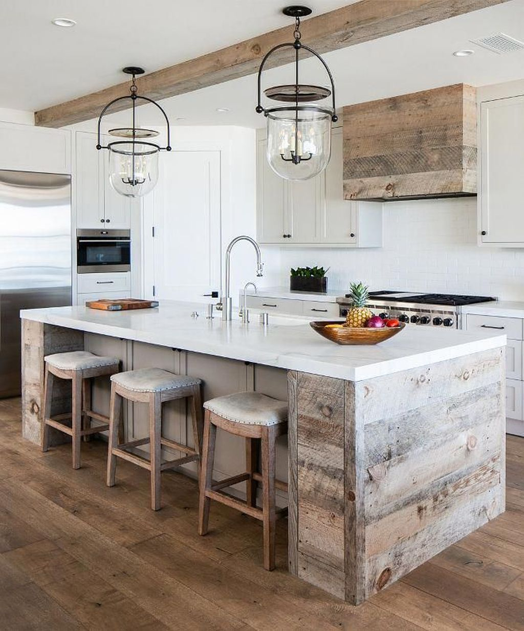 Awesome Rustic Kitchen Design Ideas 33