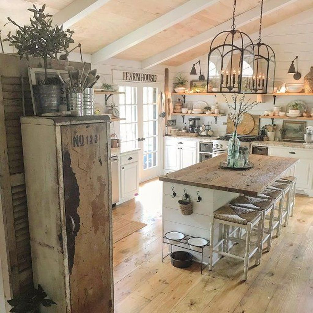 Awesome Rustic Kitchen Design Ideas 35