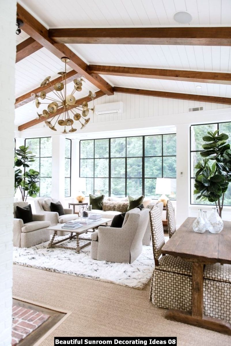 Beautiful Sunroom Decorating Ideas 08