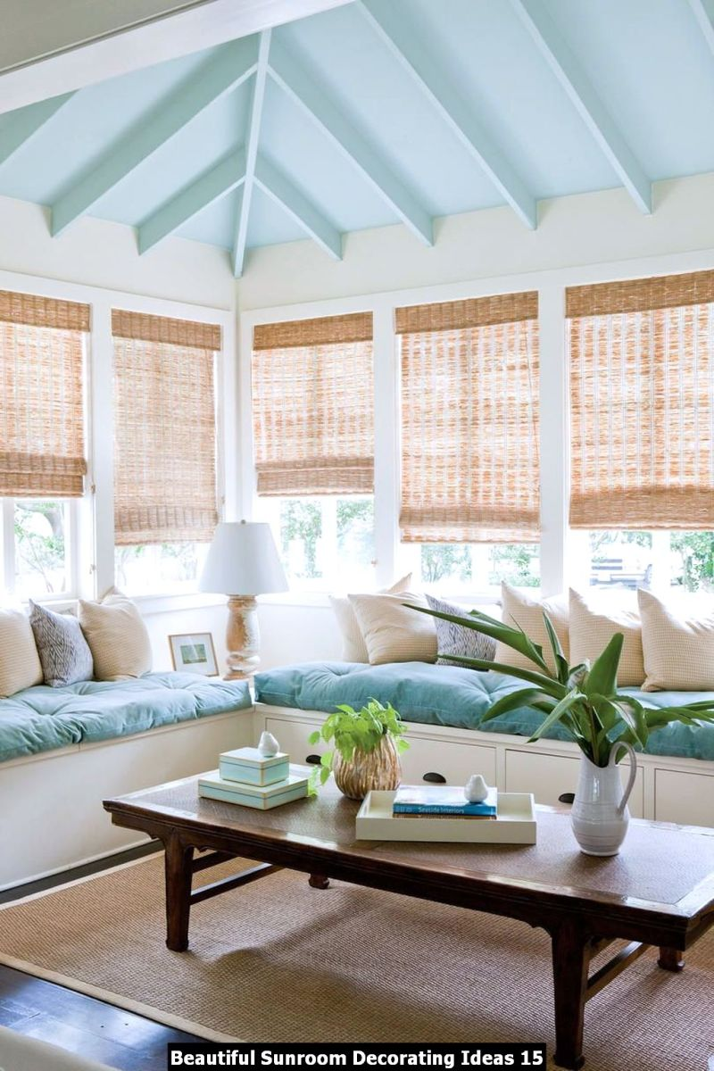 Beautiful Sunroom Decorating Ideas 15