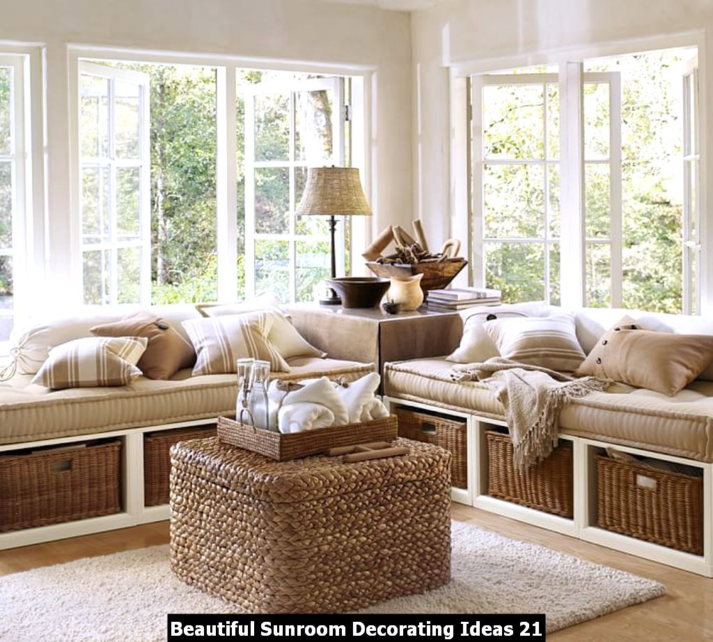 Beautiful Sunroom Decorating Ideas 21