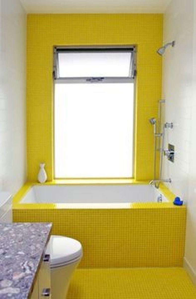 Creative Sunny Yellow Bathroom Decor For Summer 04