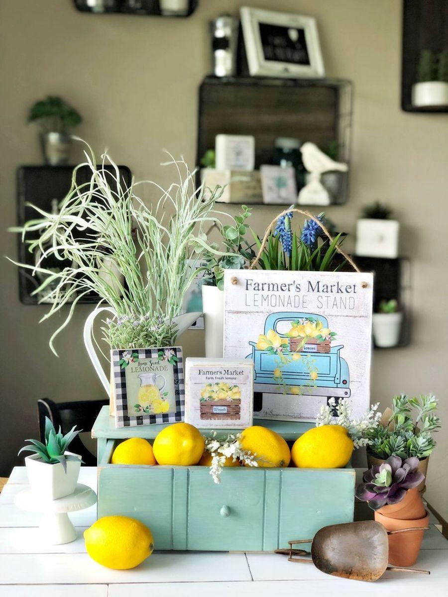 Fabulous Summer Farmhouse Decor Ideas You Will Love 12