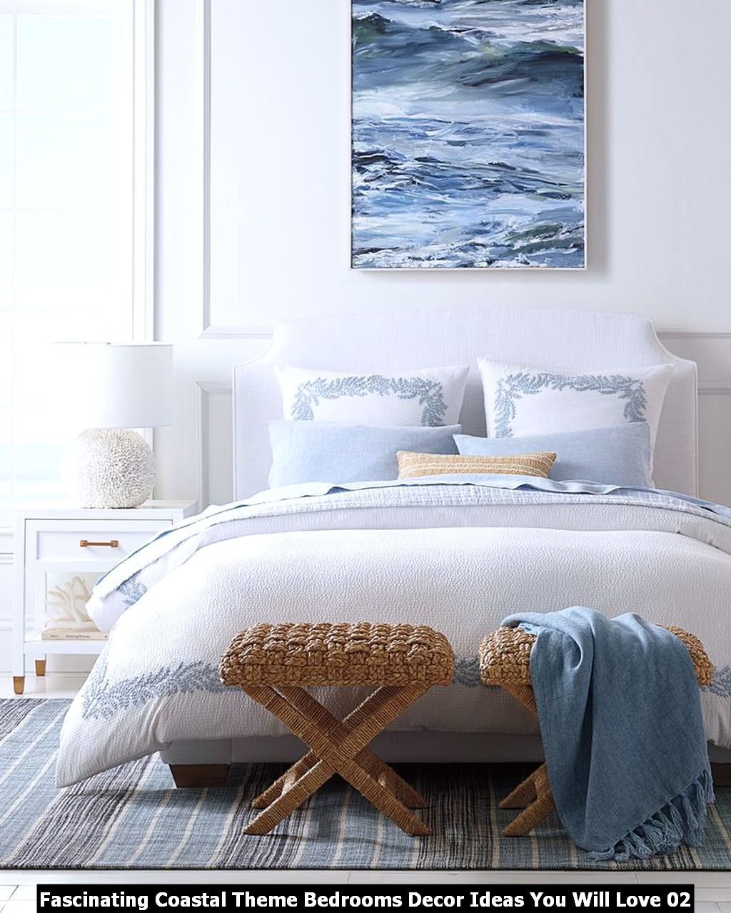 Fascinating Coastal Theme Bedrooms Decor Ideas You Will Love 02