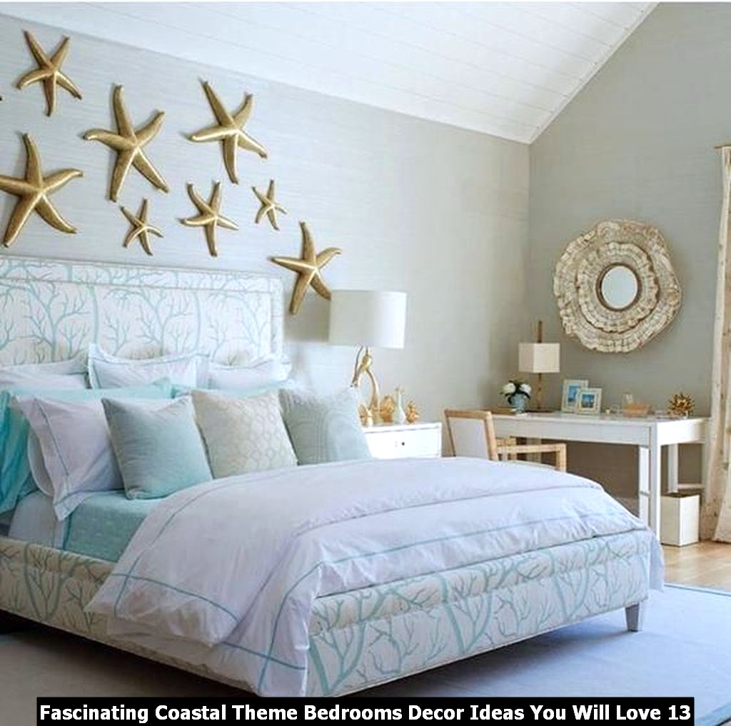 Fascinating Coastal Theme Bedrooms Decor Ideas You Will Love 13