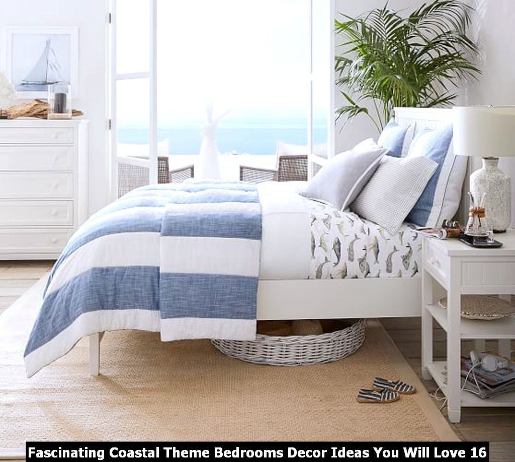 Fascinating Coastal Theme Bedrooms Decor Ideas You Will Love 16