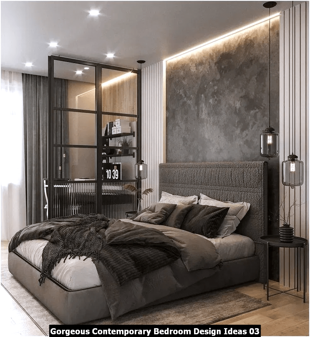 Gorgeous Contemporary Bedroom Design Ideas 03