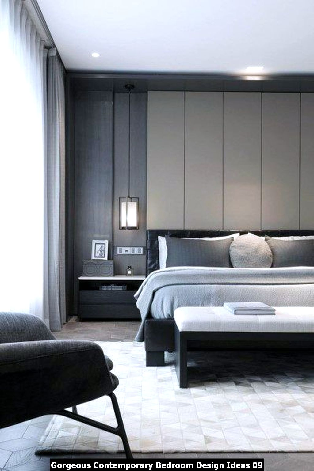 Gorgeous Contemporary Bedroom Design Ideas 09
