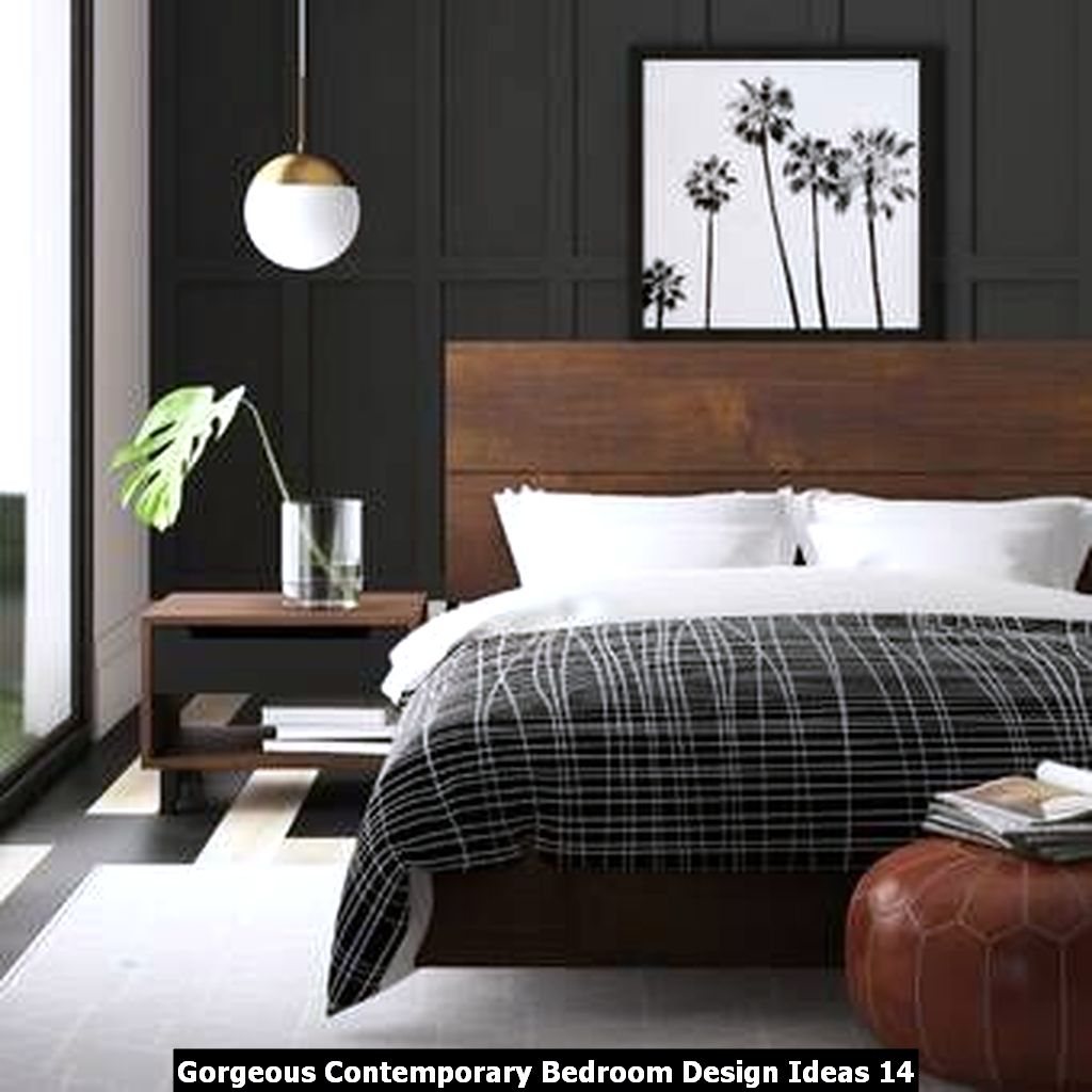 Gorgeous Contemporary Bedroom Design Ideas 14