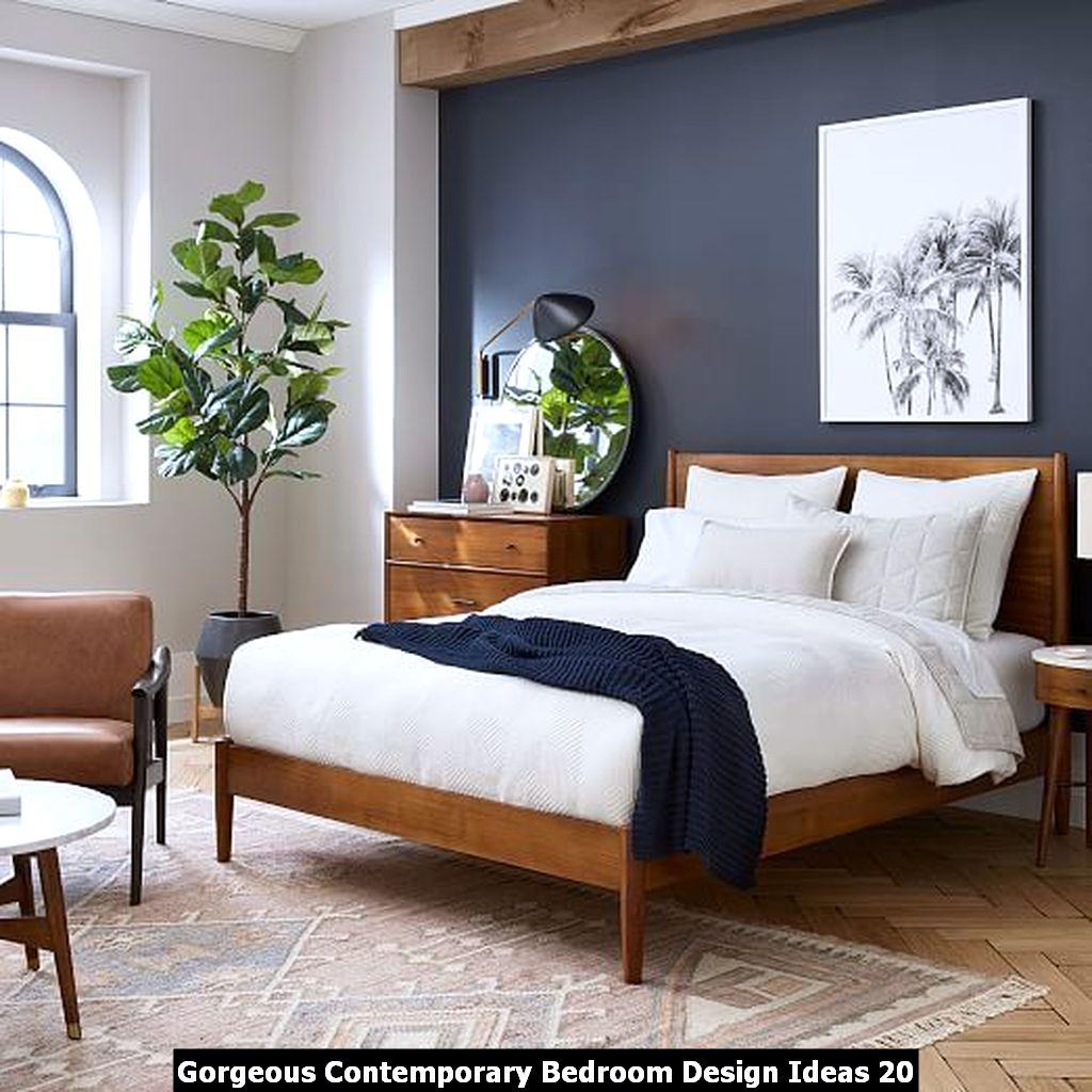 Gorgeous Contemporary Bedroom Design Ideas 20