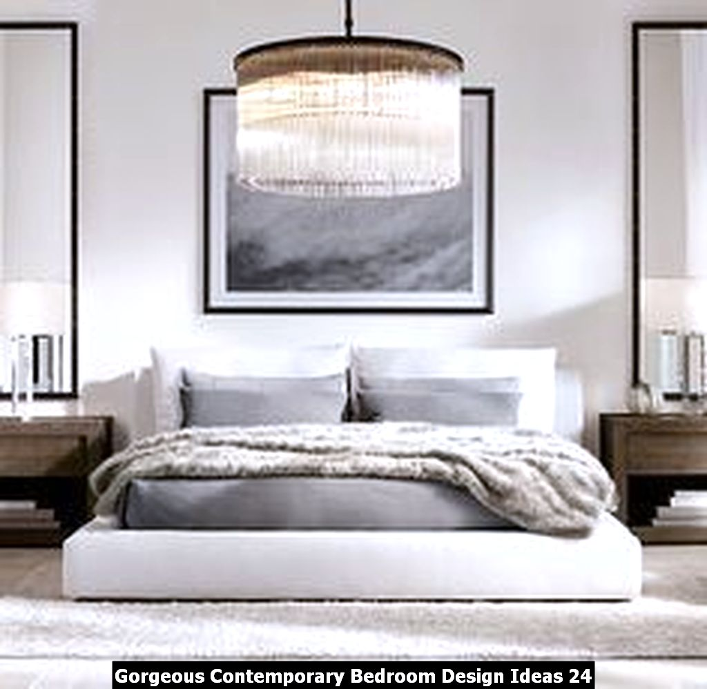 Gorgeous Contemporary Bedroom Design Ideas 24
