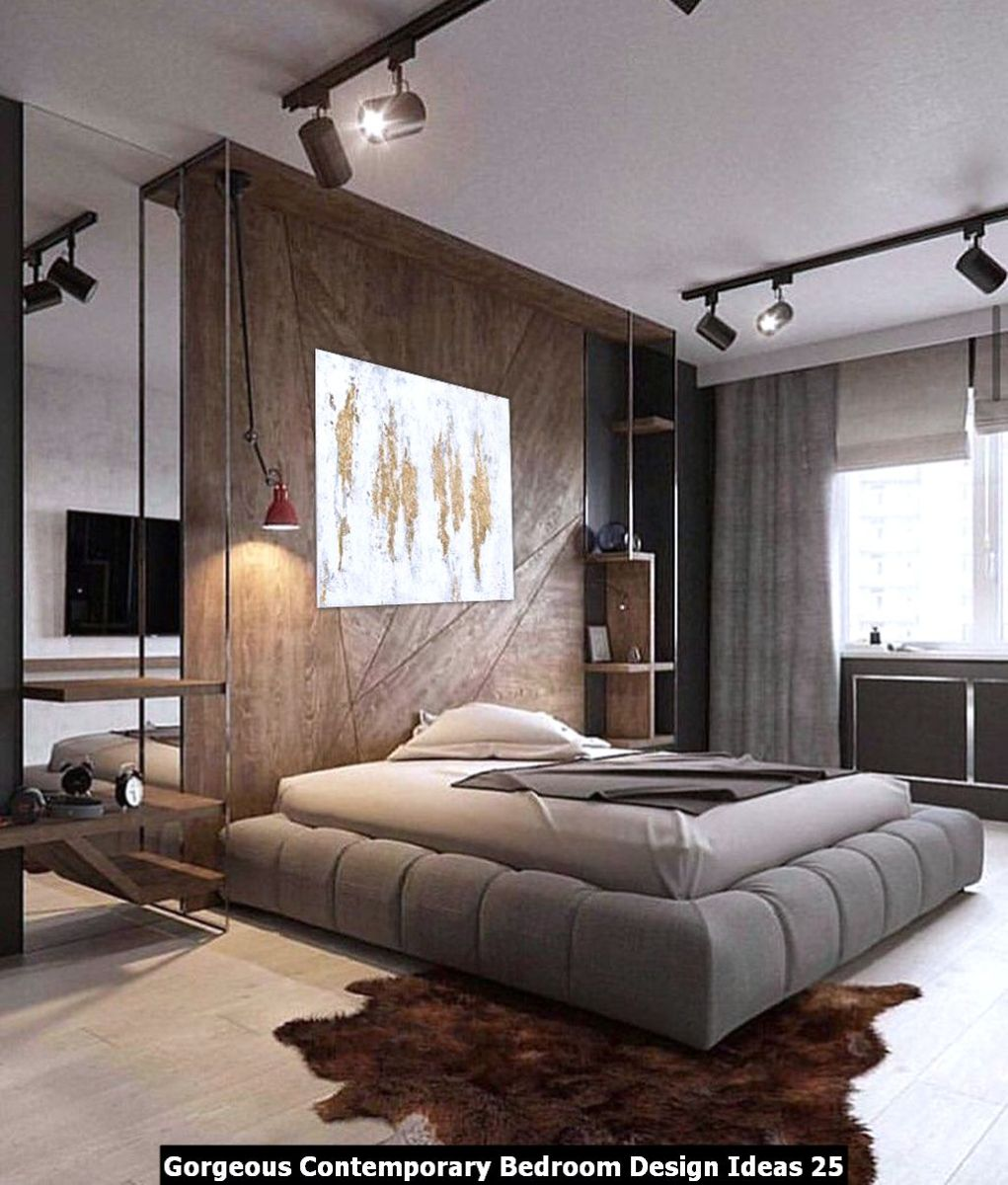 Gorgeous Contemporary Bedroom Design Ideas 25