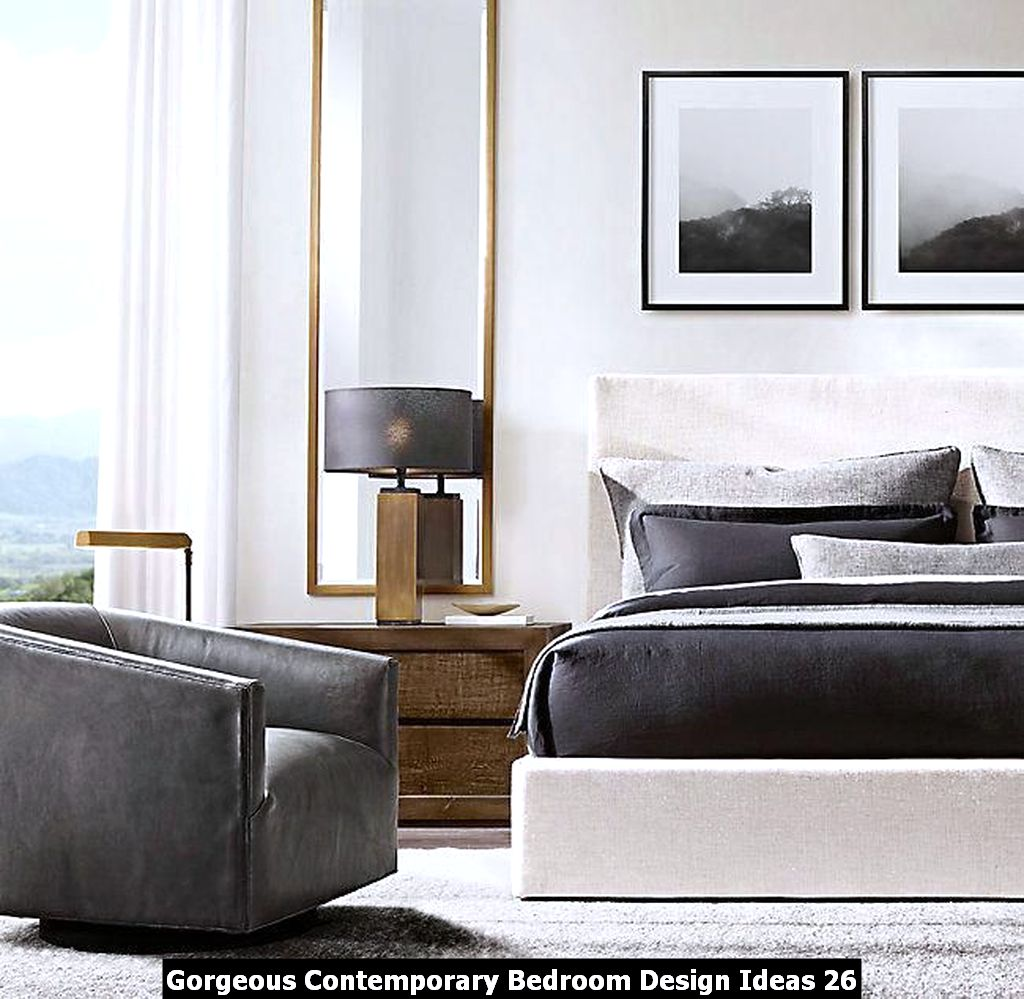 Gorgeous Contemporary Bedroom Design Ideas 26