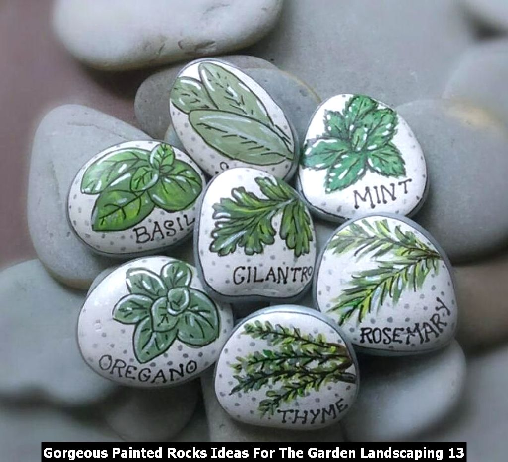 Gorgeous Painted Rocks Ideas For The Garden Landscaping 13