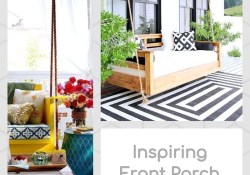 Inspiring Front Porch With Swing Decor Ideas Easy To Copy