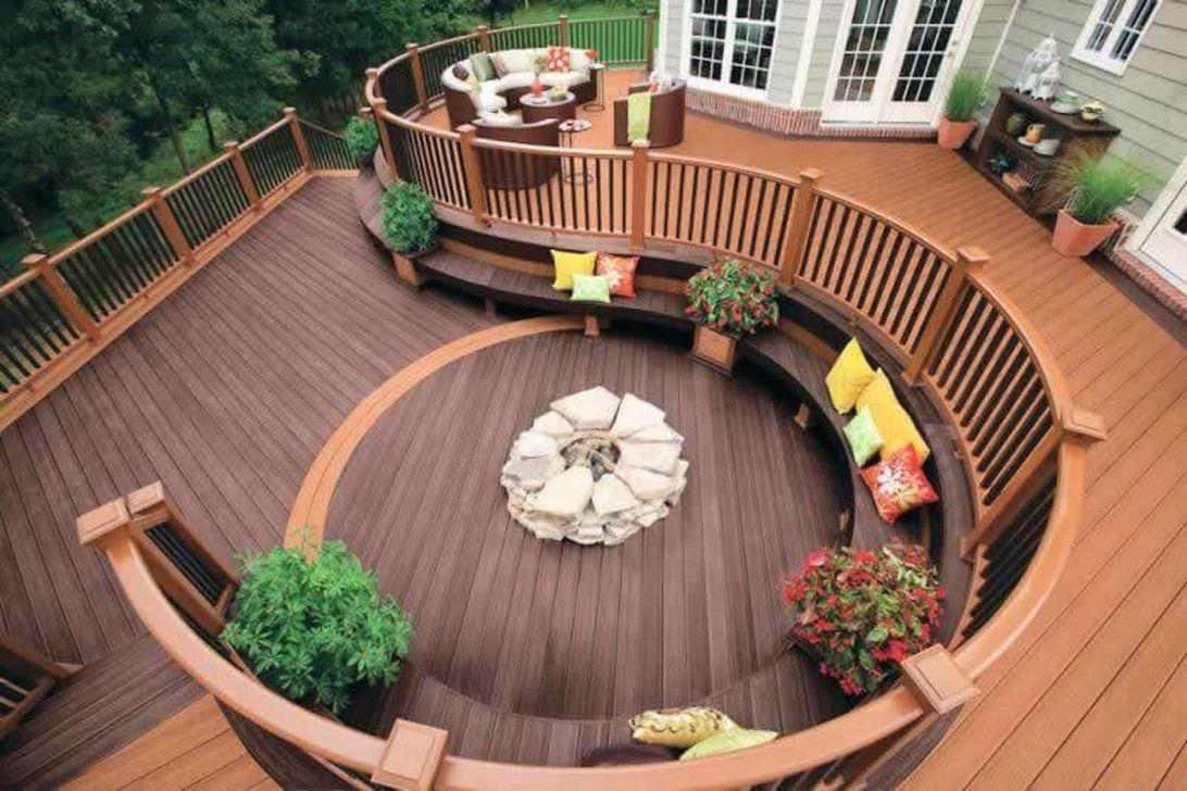 Inspiring Wooden Deck Patio Design Ideas For Your Outdoor Decor 01