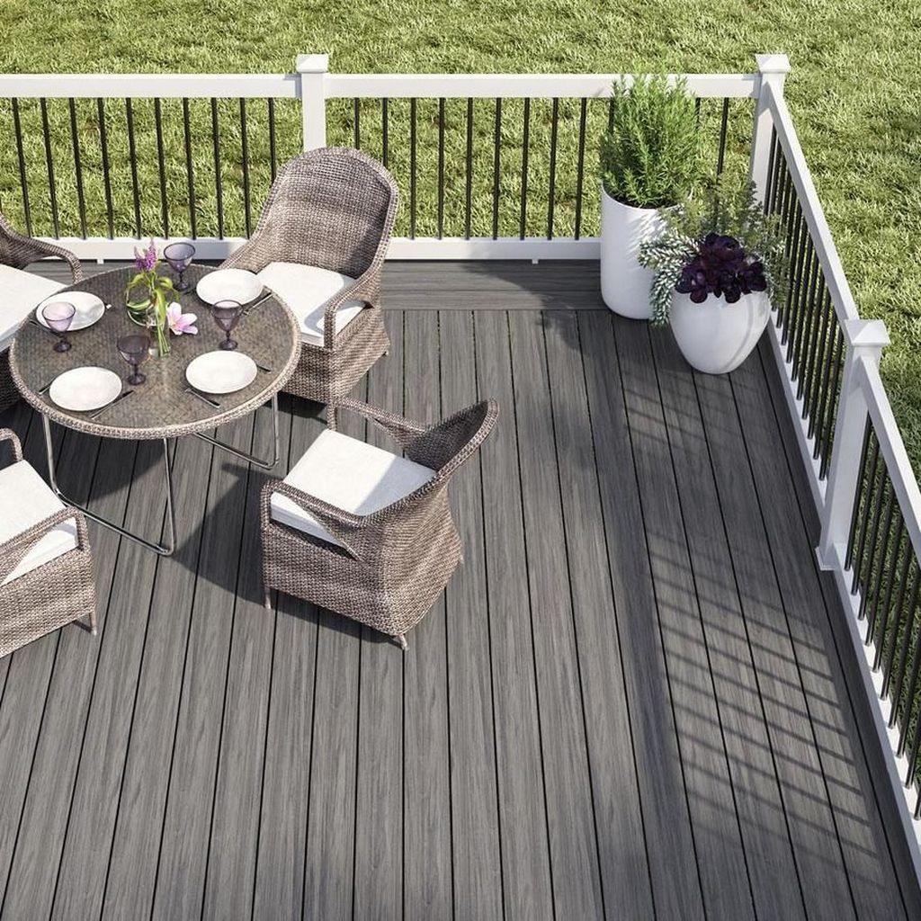 Inspiring Wooden Deck Patio Design Ideas For Your Outdoor Decor 24