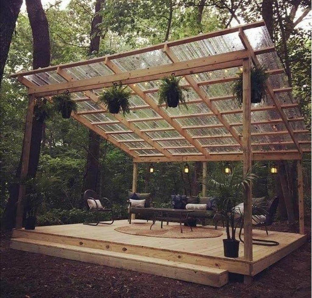 Inspiring Wooden Deck Patio Design Ideas For Your Outdoor Decor 26