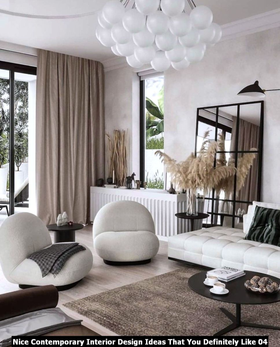 Nice Contemporary Interior Design Ideas That You Definitely Like 04