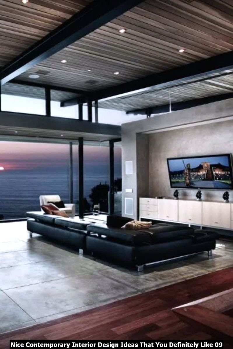 Nice Contemporary Interior Design Ideas That You Definitely Like 09