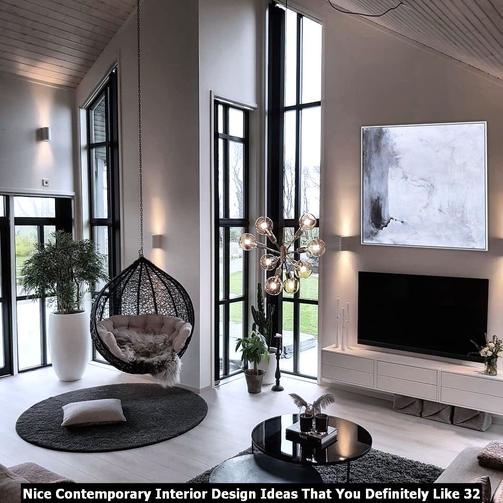 Nice Contemporary Interior Design Ideas That You Definitely Like 32