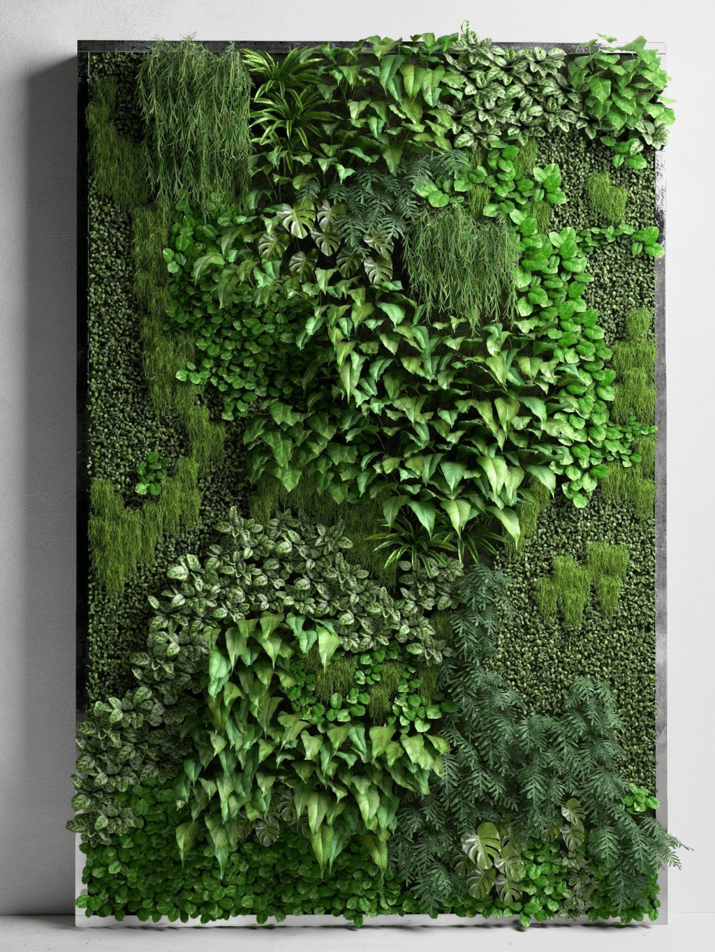 Nice Vertical Garden Wall Decor Ideas Look Beautiful 17
