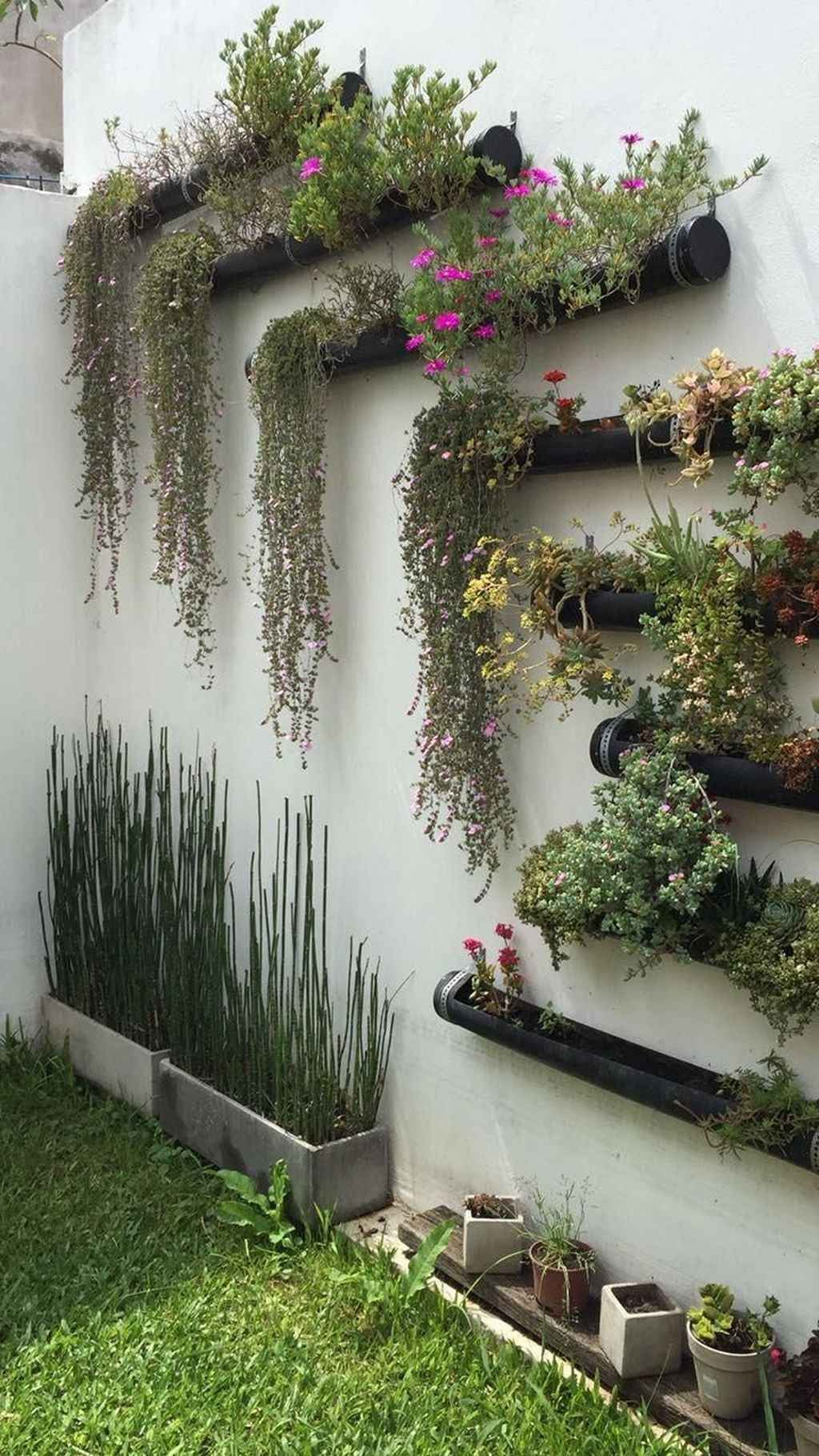 Nice Vertical Garden Wall Decor Ideas Look Beautiful 22