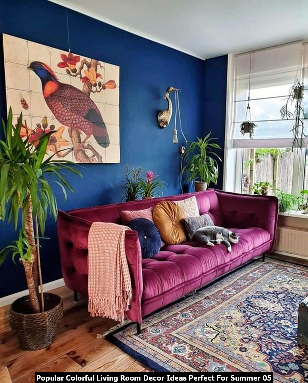 Popular Colorful Living Room Decor Ideas Perfect For Summer 05