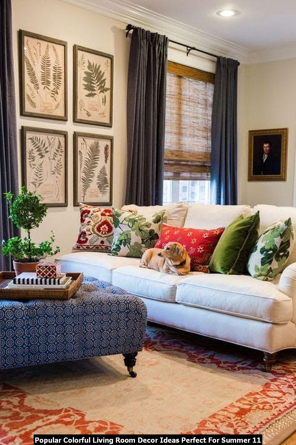 Popular Colorful Living Room Decor Ideas Perfect For Summer 11