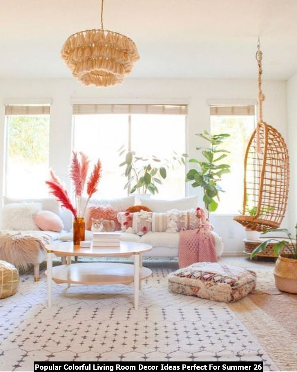 Popular Colorful Living Room Decor Ideas Perfect For Summer 26