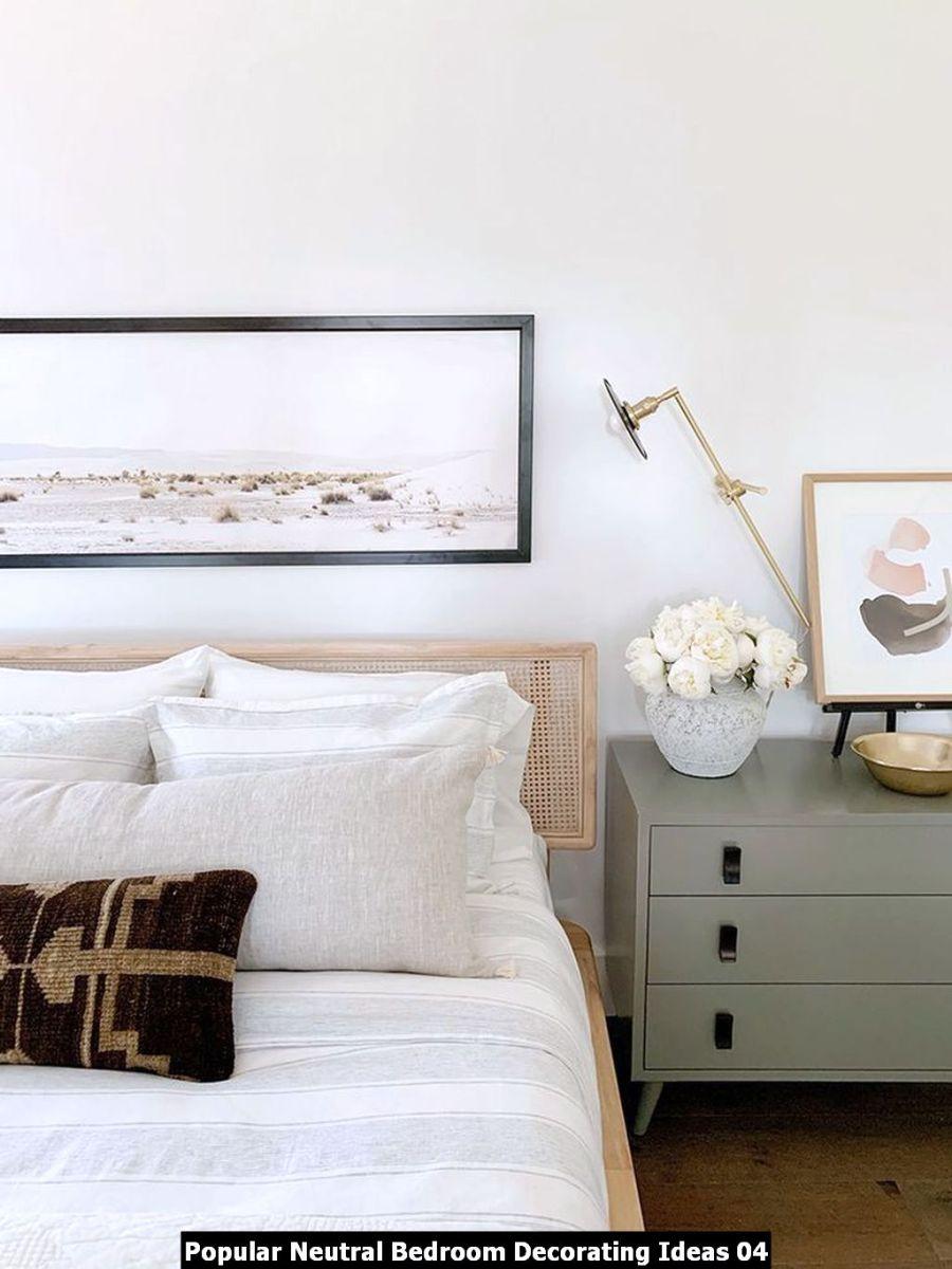 Popular Neutral Bedroom Decorating Ideas 04