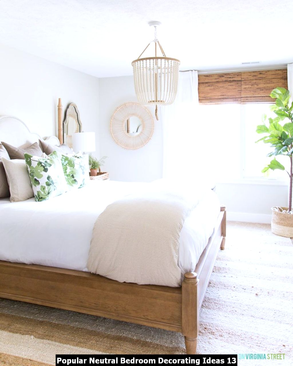Popular Neutral Bedroom Decorating Ideas 13