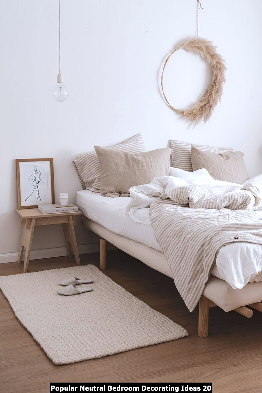 Popular Neutral Bedroom Decorating Ideas 20