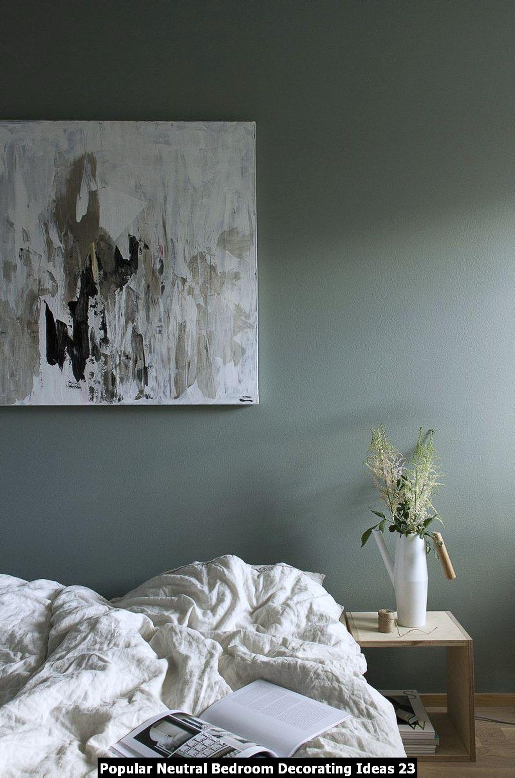 Popular Neutral Bedroom Decorating Ideas 23