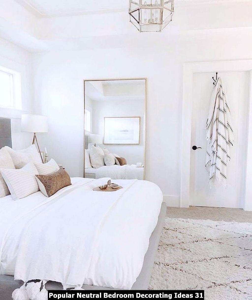 Popular Neutral Bedroom Decorating Ideas 31